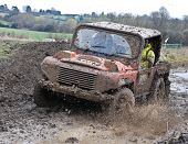 Rally 4X4 In The Mud