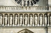 Elements of Notre dame cathedral