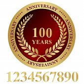 100 Years Anniversary Seal