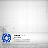 Abstract technology background. Vector.