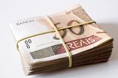 stock photo of brazilian money  - Photo of Brazilian money  - JPG