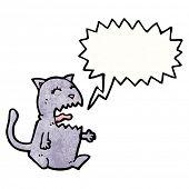 meowing cat cartoon