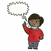 image of belching  - belching man cartoon - JPG