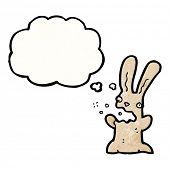 burping rabbit carton