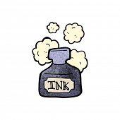 cartoon ink pot