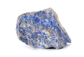 foto of lapis lazuli  - Lapis lazuli blue stone rock - JPG