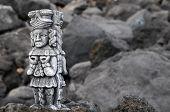 Maya Statue