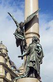 Adam Mickiewicz Column, Lviv, Ukraine
