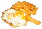 Fried Eggs And Chips