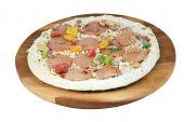 Frozen Uncooked Pizza