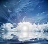 picture of heavenly  - Divine sky - JPG
