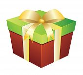 Two Colored Gift Box
