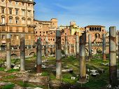 The Square Largo Di Torre Argentina, Rome