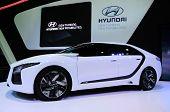Bkk - Nov 28: Hyundai Hnd-6 On Display At Thailand International Motor Expo 2013 On Nov 28, 2013 In