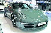 Bkk - Nov 28: Porsche 911 (50Th Anniversary Edition) On Display At Thailand International Motor Expo
