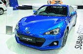 Bkk - Nov 28: Subaru Brz 2.0I, Supercar Or Sport Car, On Display At Thailand International Motor Exp