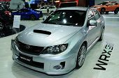 Bkk - Nov 28: Subaru Wrx Stv On Display At Thailand International Motor Expo 2013 On Nov 28, 2013 In