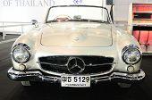 Bkk - Nov 28: Mercedes Benz 190 Sl, Vintage Convertible Car, On Display At Thailand International Mo