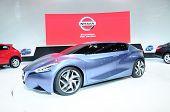Bkk - Nov 28: Nissan Friend Me, Hybrid Concept Car, On Display At Thailand International Motor Expo