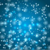 Abstract snowy background