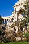 Fountain Of Palais Longchamp (1869), Marseilles, France