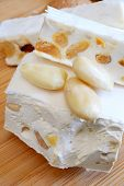 Постер, плакат: Honey Nougat With Almonds