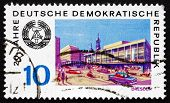 Postage Stamp Gdr 1969 View Of Dresden