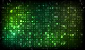 Abstract Green Shine Background