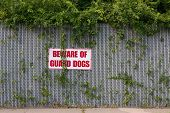 Beware Of Guard Dogs