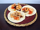 Shrimp Tacos Dinner