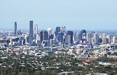 stock photo of cbd  - Brisbane the third largest city in Australia and the capital and most populous city in Queensland a view from Mt Coot - JPG