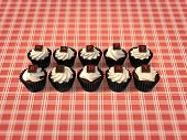 Happy Birthday Cupcakes On Vintage Background