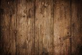 image of rusty-spotted  - wood texture plank grain background wooden desk table or floor old striped timber board - JPG