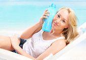Hydration during heat-bath solar