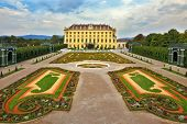 VIENNA, AUSTRIA - SEPTEMBER 26, 2013: Sch�?�?�?�¶nbrunn - the summer residence of the Austrian