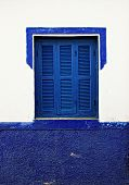 foto of asilah  - in northern Morocco there is a town called Asilah in which their homes and streets are painted blue - JPG