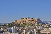 Acropolis  and Athens cityscape, Greece