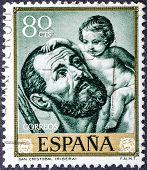 San Cristobal With Child