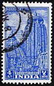 Postage Stamp India 1951 Bhuvanesvara Temple