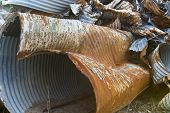 Rusting Drainage Pipes