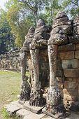 Elephant Terrace In Angkor Thom