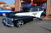 Plymouth police car
