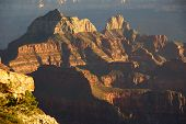 picture of zoroaster  - Brahma Temple and Zoroaster Temple North Rim Grand Canyon National Park Arizona - JPG