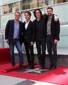 LOS ANGELES - MAY 9:  Doug Davidson, Richard Marx, Rick Springfield, JasonThompson at the Rick Springfield Hollywood Walk of Fame Star Ceremony at Hollywood Blvd on May 9, 2014 in Los Angeles, CA