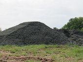 Heap of Asphalt Millings
