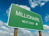 Постер, плакат: millionaire