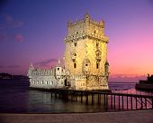 Tower of Belem, Lisbon, Portugal.