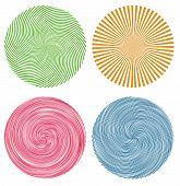Candy Coloured Swirls