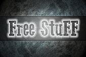 Free Stuff Concept