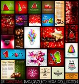 pic of masterpiece  - 25 Christmas background MEGA collection set - JPG